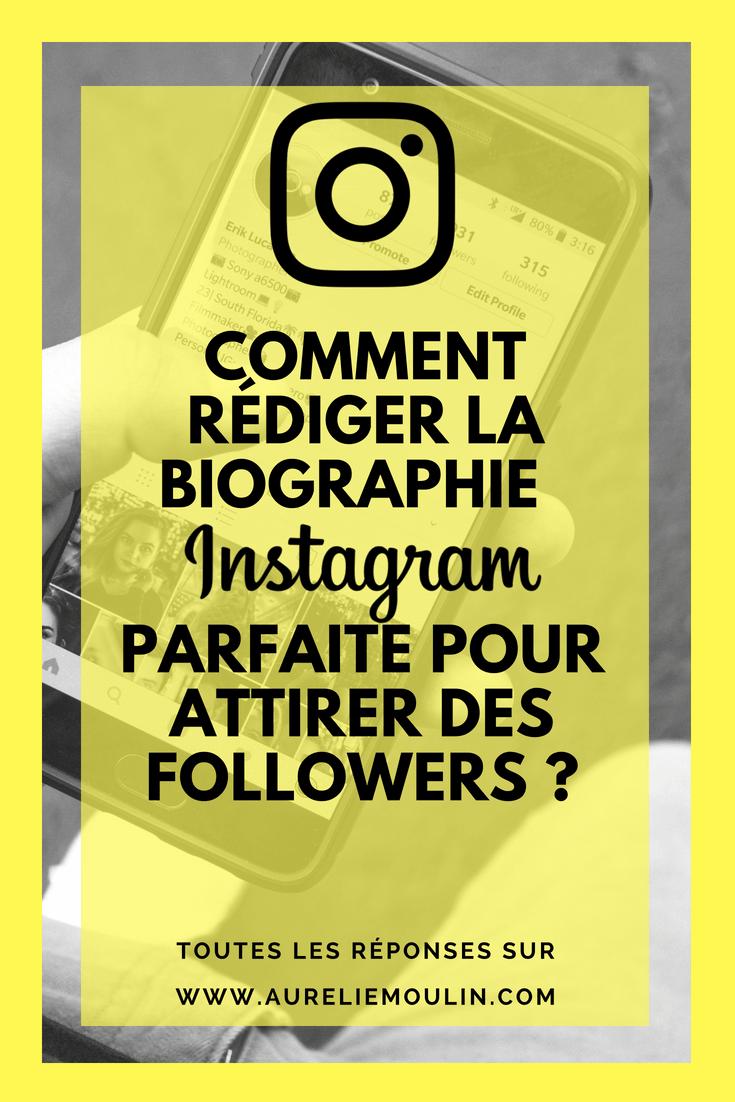 Comment rédiger une biographie Instagram parfaite ?