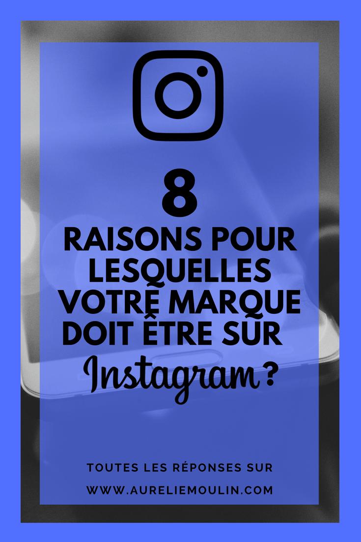 pourquoi communiquer sur Instagram ?