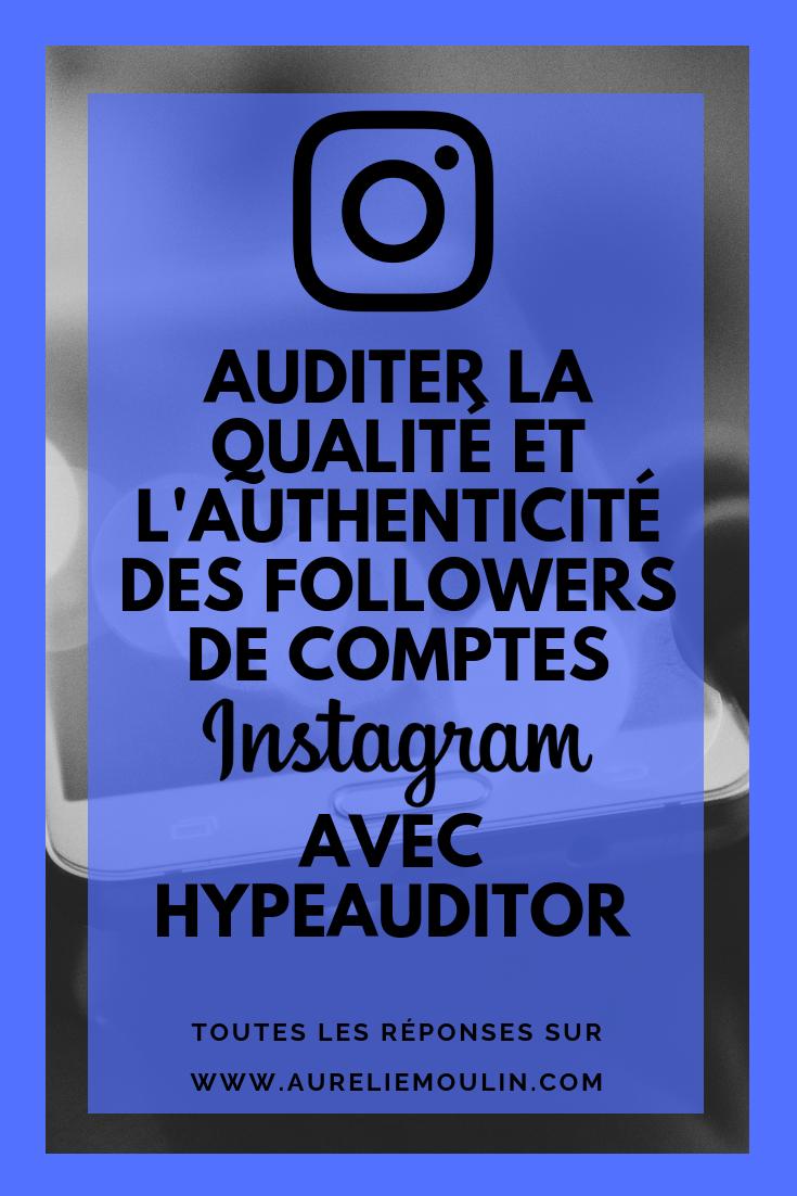 détecter les faux followers d'un compte Instagram