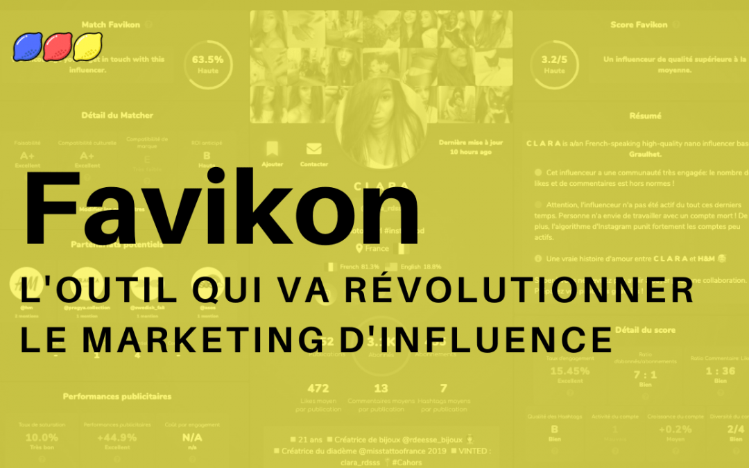 favikon, outil d'influence marketing